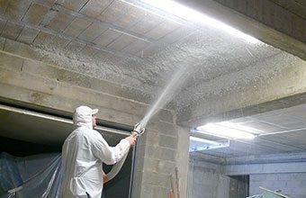 Cómo aislar un techo con aislamiento proyectado
