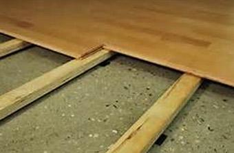 Aislamiento t rmico insuflado bajo un suelo de tarima - Como solar un suelo ...